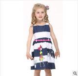 2014 Les enfants de nouveau été robes des filles en pur coton robe de princesse