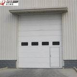 Дверь автоматического промышленного двойника пакгауза стальная надземная секционная