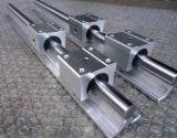 SBR10uu SBR12uu SBR13uu SBR16uu SBR20uu soporte del eje de rodamiento lineal rampa