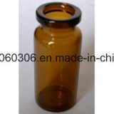 bernsteinfarbige Röhrenglasphiole 5ml