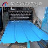 Гальванизированный PPGI Corrugated лист толя