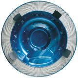 高く標準的で贅沢な円形の渦の鉱泉の温水浴槽(M-3329)