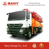 Bomba concreta montada 53mtruck de bomba concreta de Sany com crescimento 50m