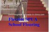 운동장과 교실 표면을%s 유연한 Spua 학교 마루