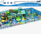 De grote Blauwe Zachte Speelplaats van het Overzeese Grappige Park van het Thema voor Verkoop (H14-0910)