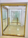 Cerco inoxidável dourado luxuoso do chuveiro de Sceen do quarto de chuveiro do frame de aço