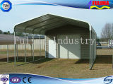 Light Simple Steel Structure and Dirty Easy Carport for