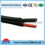 Câble solaire flexible engainé par XLPE jumeau TUV reconnu