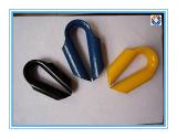 Сережка веревочки провода нержавеющей стали с Polished отделкой