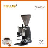 Cg-600AC expresso électrique commercial Bur Manuel moulin à café avec café d'autosurveillance acier inoxydable