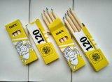4PC Court Crayons de couleur pour la promotion emballées dans des Paperbox 4c de l'impression