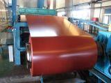 Bobina de acero cubierta color en frío de PPGI