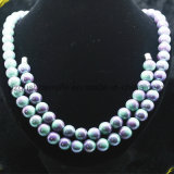 Galera gelada de turmalina Beads Necklace Jóias Yoga Amazon Stone Jewelry