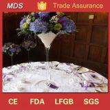 Vase en verre de haute qualité pour mariage Martini