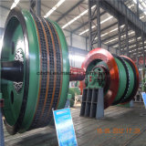 高品質マルチロープの摩擦鉱山の起重機ヘッドSheave