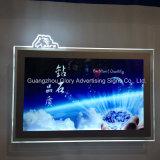 LED-heller Kasten Frameless Acryl-Kristallrahmen