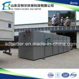 fábrica de tratamento do Wastewater do hospital 100tons/Day, Wtp para o tratamento de água de esgoto