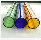 Le tube de verre
