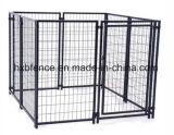 Cage extérieure de crabot de treillis métallique de tube carré