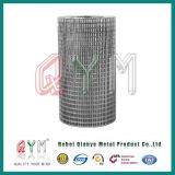 Гальванизированный 1/2 дюйма в квадратное отверстие сварной проволочной сеткой рулонов