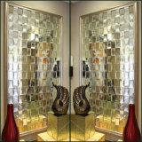 Téléviseur miroir décoratif mural de fond