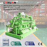 conjunto de generador silencioso del gas de la capa de carbón del pabellón del refrigerador de agua 500kw