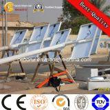 가로등 폴란드 직류 전기를 통한 태양 공장
