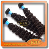 Curlyのブラジル人HairのRemy Hair Extension