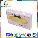 Rectángulo de regalo del embalaje del papel del color del gatito de Customisz Holle