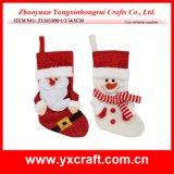 De Decoratie van de Kous van de Slang van Kerstmis van de Decoratie van Kerstmis (zy14y192-7-8)