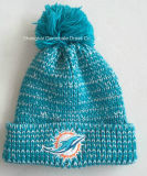 スポーツクラブ(HJB108)のための3D刺繍が付いている100%Acrylic編む帽子