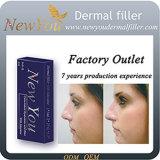 Enchimento cutâneo ácido de /Hyaluronic do enchimento do Ha/enchimentos cutâneos faciais Injectable