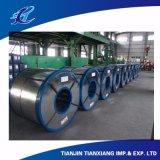 Bobina de acero cubierta cinc del proceso de INMERSIÓN caliente