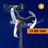Китайская вертикальная ветротурбина оси 1kw для домашней пользы
