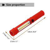 Gli indicatori luminosi multifunzionali del lavoro di manutenzione della PANNOCCHIA della torcia elettrica trasportano la penna - forti indicatori luminosi magnetici del lavoro degli indicatori luminosi a forma di dello strumento