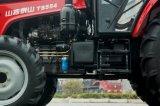 Alimentador chino agrícola de Waw 55HP 4WD con la cabina