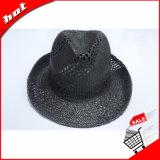 서류상 밀짚 모자 검정 중절모 파나마 서류상 모자