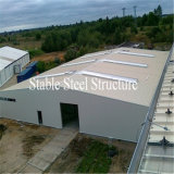 Helles Stahlrahmen-Pole-Stall-Gebäude für Verkauf