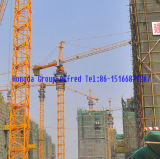 Guindaste de torre com carga máxima 5 toneladas