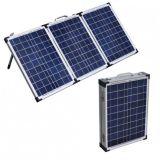 80W 차를 위한 건전지 죔쇠를 가진 휴대용 태양 전지판 장비