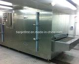 Galdéria do ovo de congelação do equipamento da pizza congelada IQF rápida ou da massa de pão