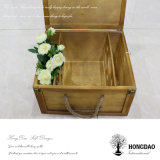 Hongdaoの熱い販売の6 Bottles_Dのための木のワインボックス