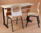 Secretária e cadeira de mesa dupla