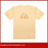 人の工場価格のCcustomのロゴによって印刷される昇進のTシャツ(R189)が付いている軽量Vの首のTシャツ