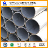 Balck Rodada/tubo de aço soldadas quadrado