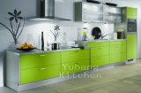 Горячие продажи древесины Глянцевая кухня кабинет (#M2012-28)