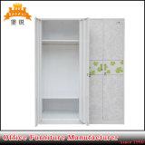 Mobiliario de casa de metal recubierto de polvo de acero armario armario dormitorio