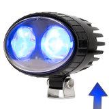 9-80V LEDの矢のビームが付いている青いフォークリフトの安全警報灯