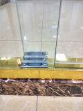 Luxo que galvaniza o cerco de vidro do chuveiro do quarto de chuveiro do aço inoxidável