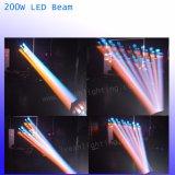 200W déplacement du faisceaux de lumière LED tête de l'étape de l'éclairage DJ